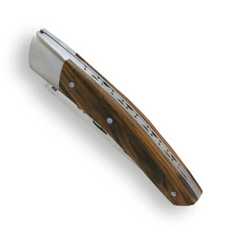 couteau le thiers en bois de pistachier fait en france actiforge. Black Bedroom Furniture Sets. Home Design Ideas