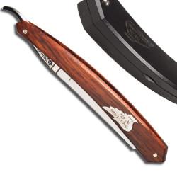 Rasoir Droit 5/8 celebration silverwing serie numerotée manche en bois de Cocobolo
