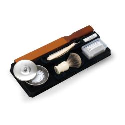Ensemble de rasage pour rasoirs droits