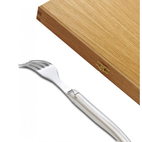 Fourchettes à Dessert Laguiole Prestige Inox Finition Brillante - Image 807