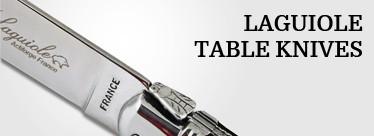 Laguiole table knives